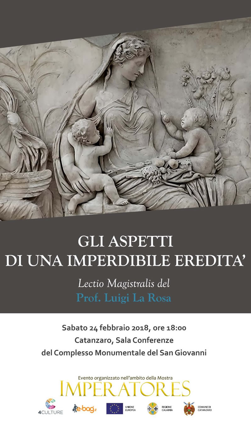 Lectio Magistralis di Luigi La Rosa